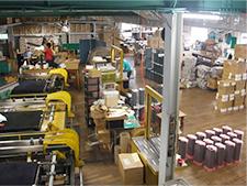 ガラス加工・木工組み立て部門