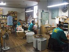 内部商品の製作・取り付け部門
